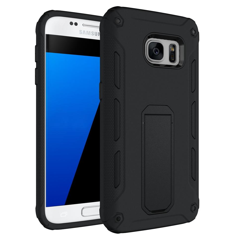 Samsung Galaxy J5 Prime Shield Heavy Duty Shock Absorber Soft Gel Case