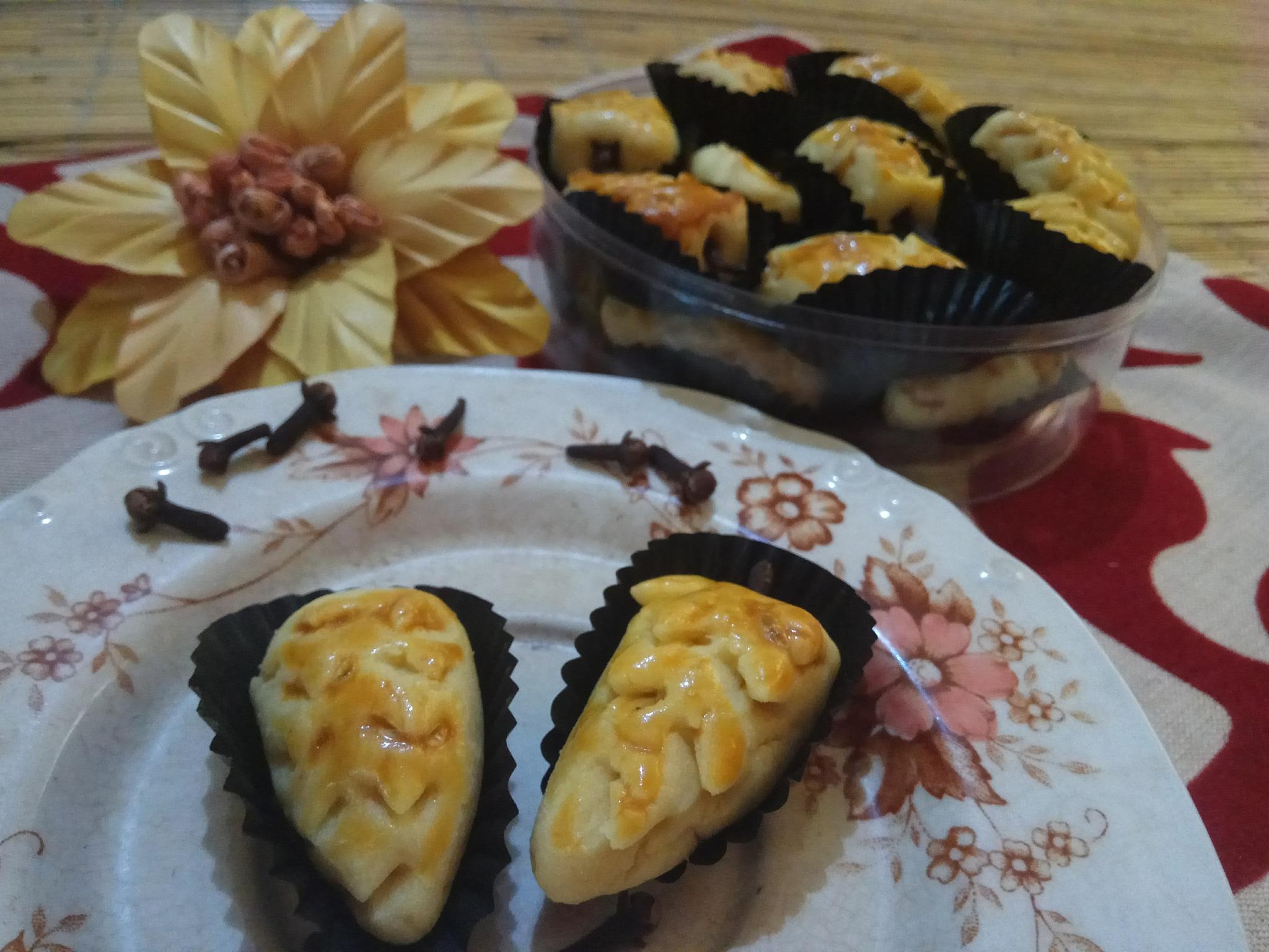 Jual Kue Nastar Keju Wisman Special Pineapple Cookie Premium 250gr Edam Ascashop Tokopedia