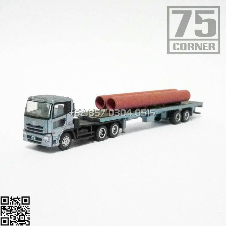 harga Tomytec Trailer Vol 2 Ud Nissan Diesel Quon + Heavy Trailer Pipe Truck Truk Pipa Saluran Air Tronton N Scale Blanja.com