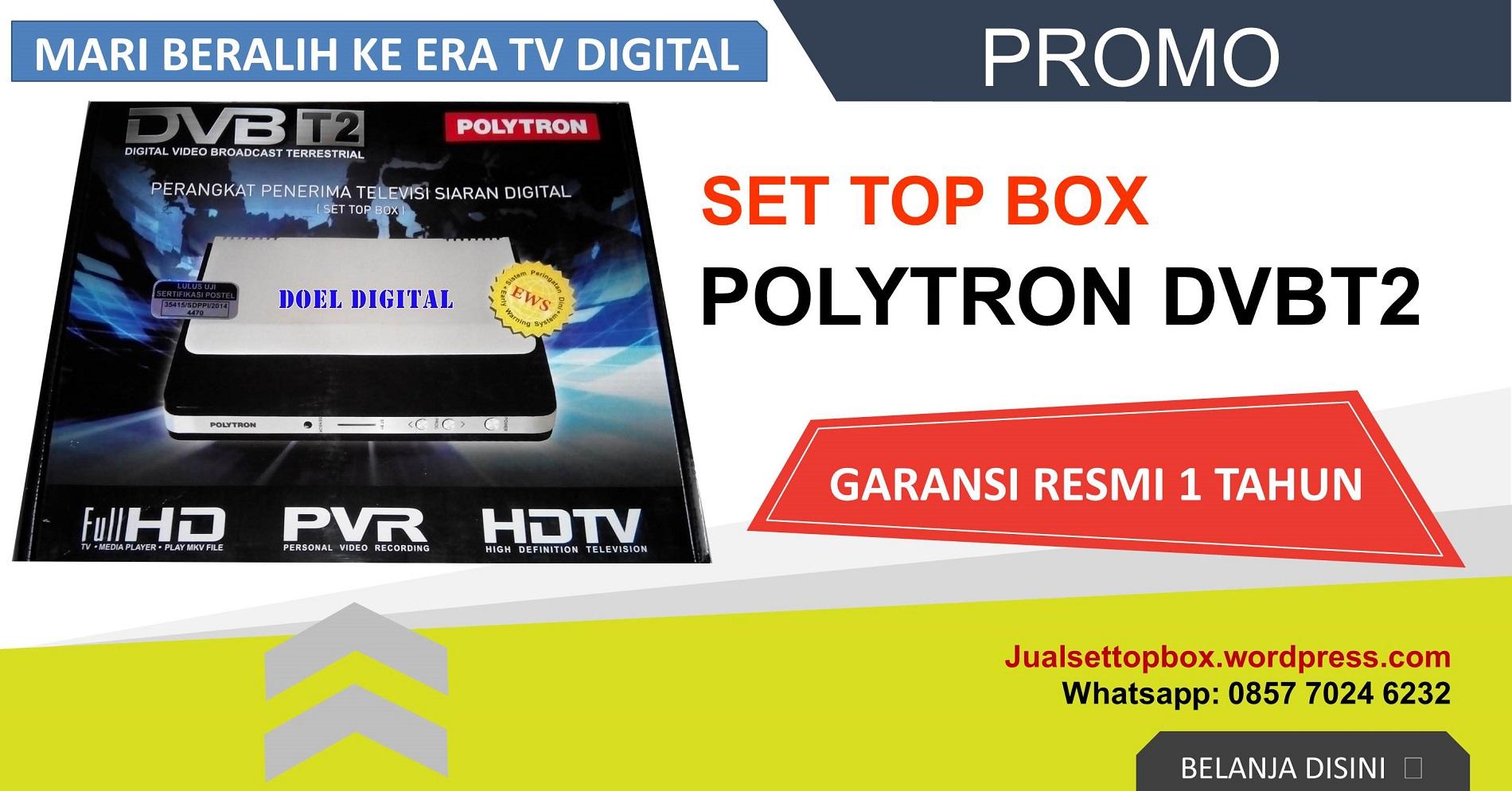 set top box polytron lazada