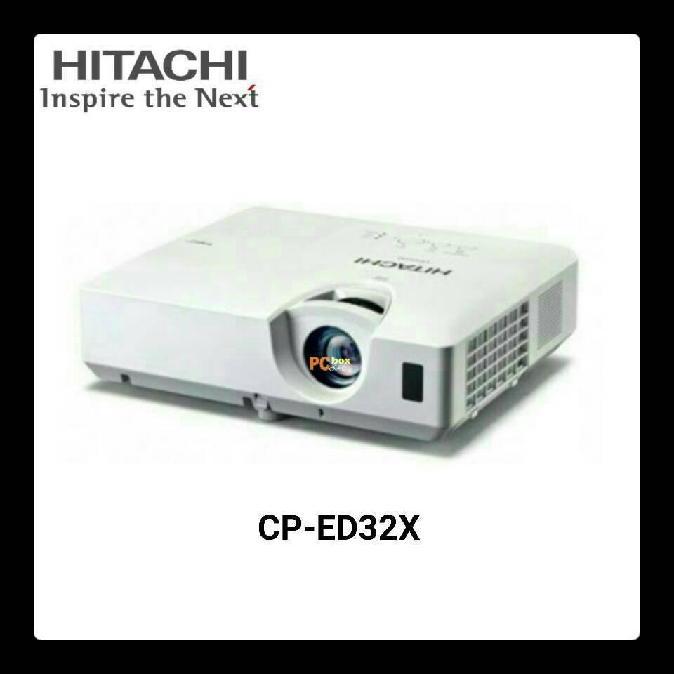 Jual Hitachi Ed 32x Setia Hati Computer Di Tokopedia Cp Ed27x Projector