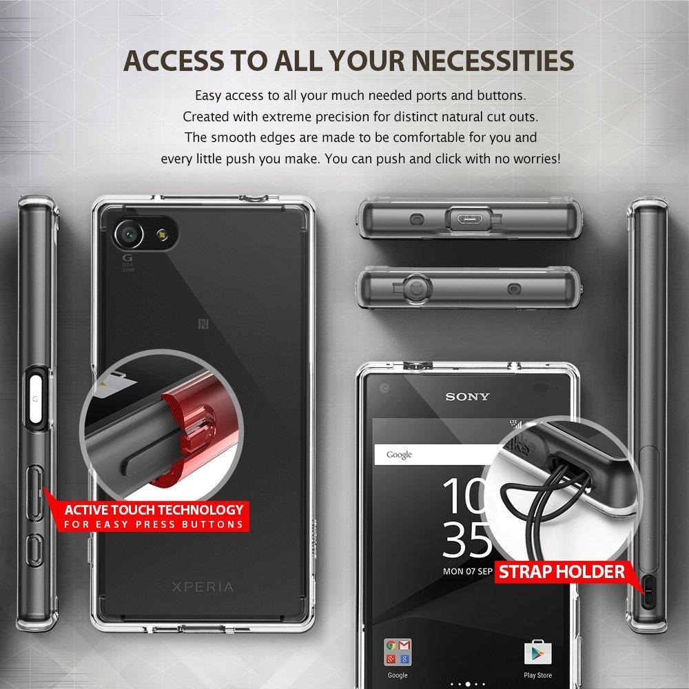 Rearth Ringke Sony Xperia XA Case Fusion - Clear