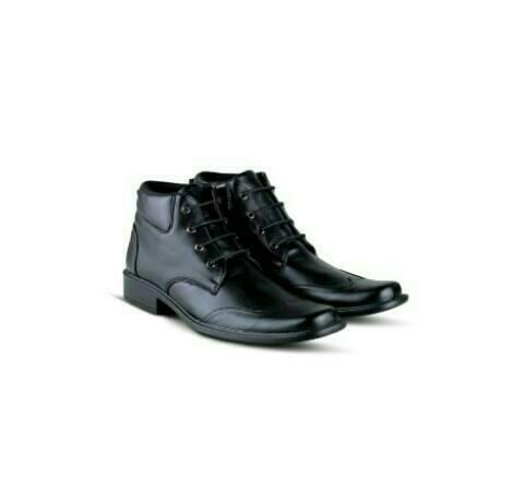Jual Distro Bandung VR 396 Sepatu Formal Pria Kulit Sintetis-Hitam - Hitam 6f1d9cd3b4