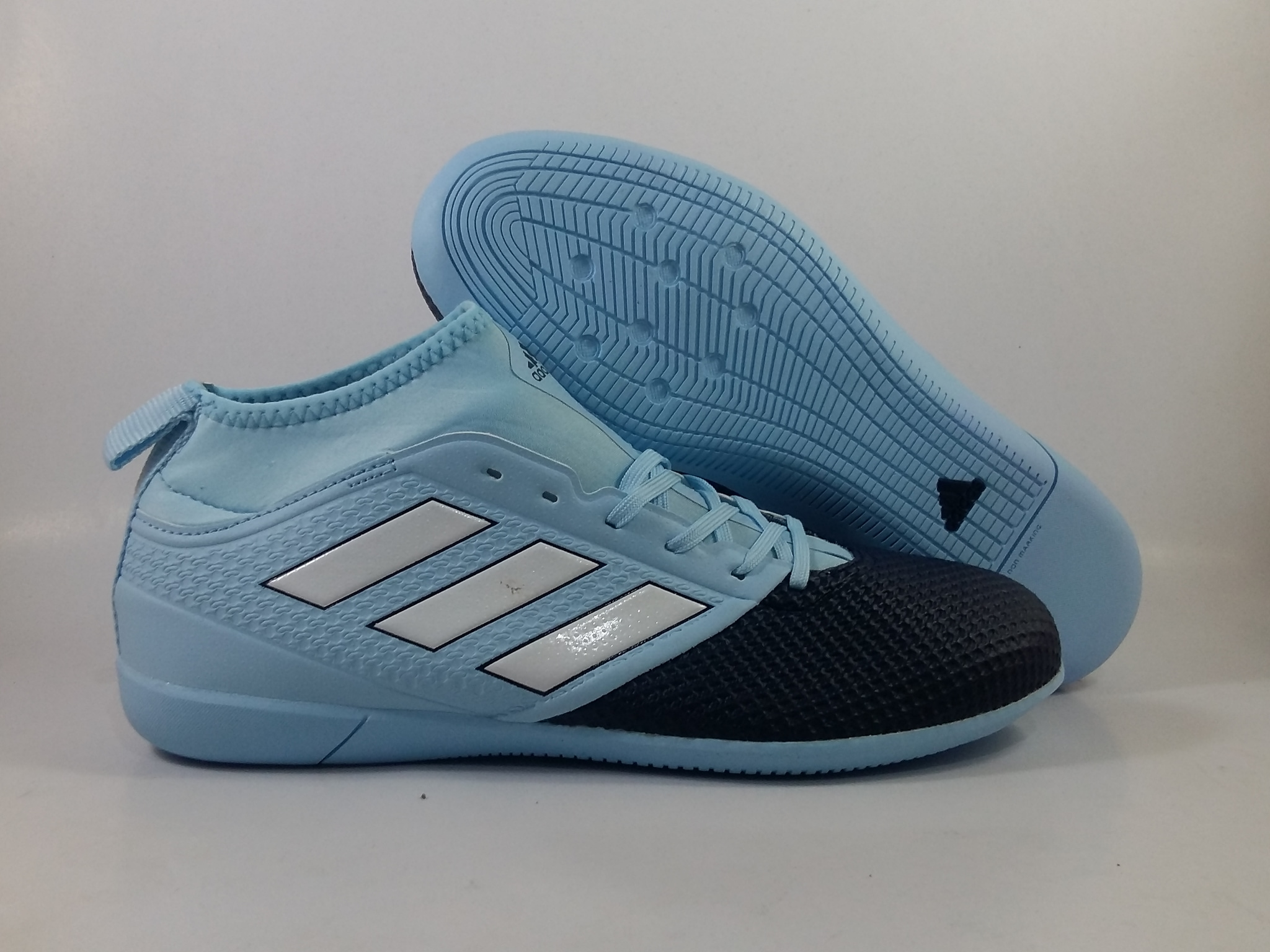 9f937c6d9 ... discount code for jual sepatu futsal adidas ace 17.3 primemesh sky blue  black kick nd shoes