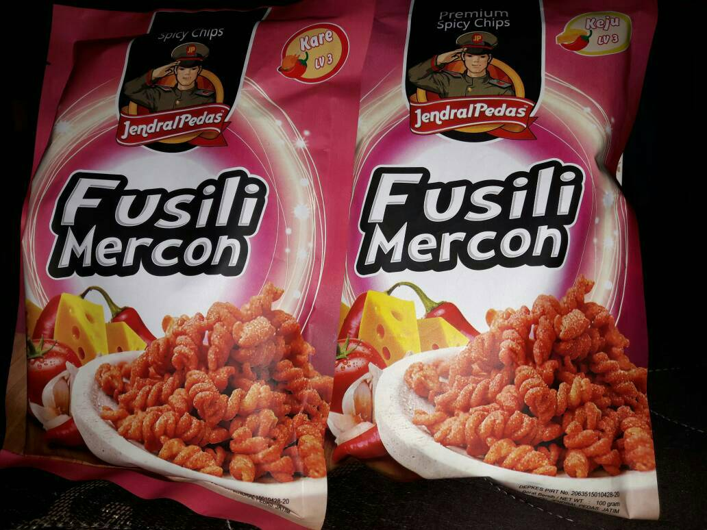 PREMIUM SPICY CHIPS ALL LEVEL ALL FLAVOUR. Jual Jendral Pedas Makaroni &. Source .