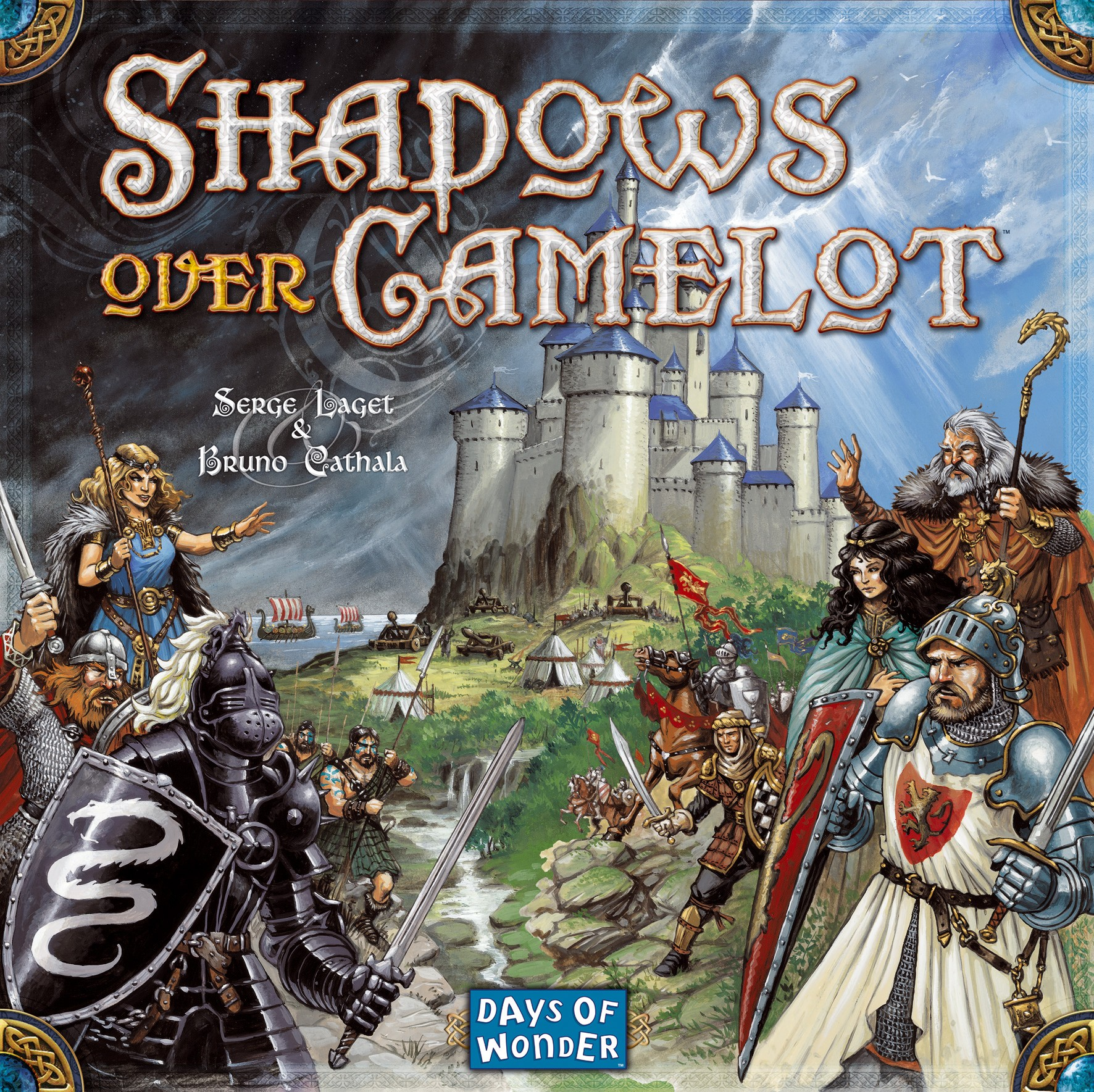 Shadows Over Camelot Board Game - Blanja.com