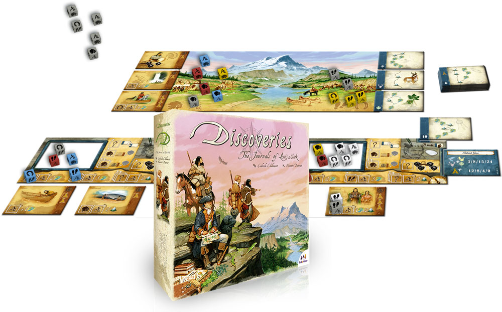 Discoveries : The Journal Of Lewis & Clark Board Game - Blanja.com