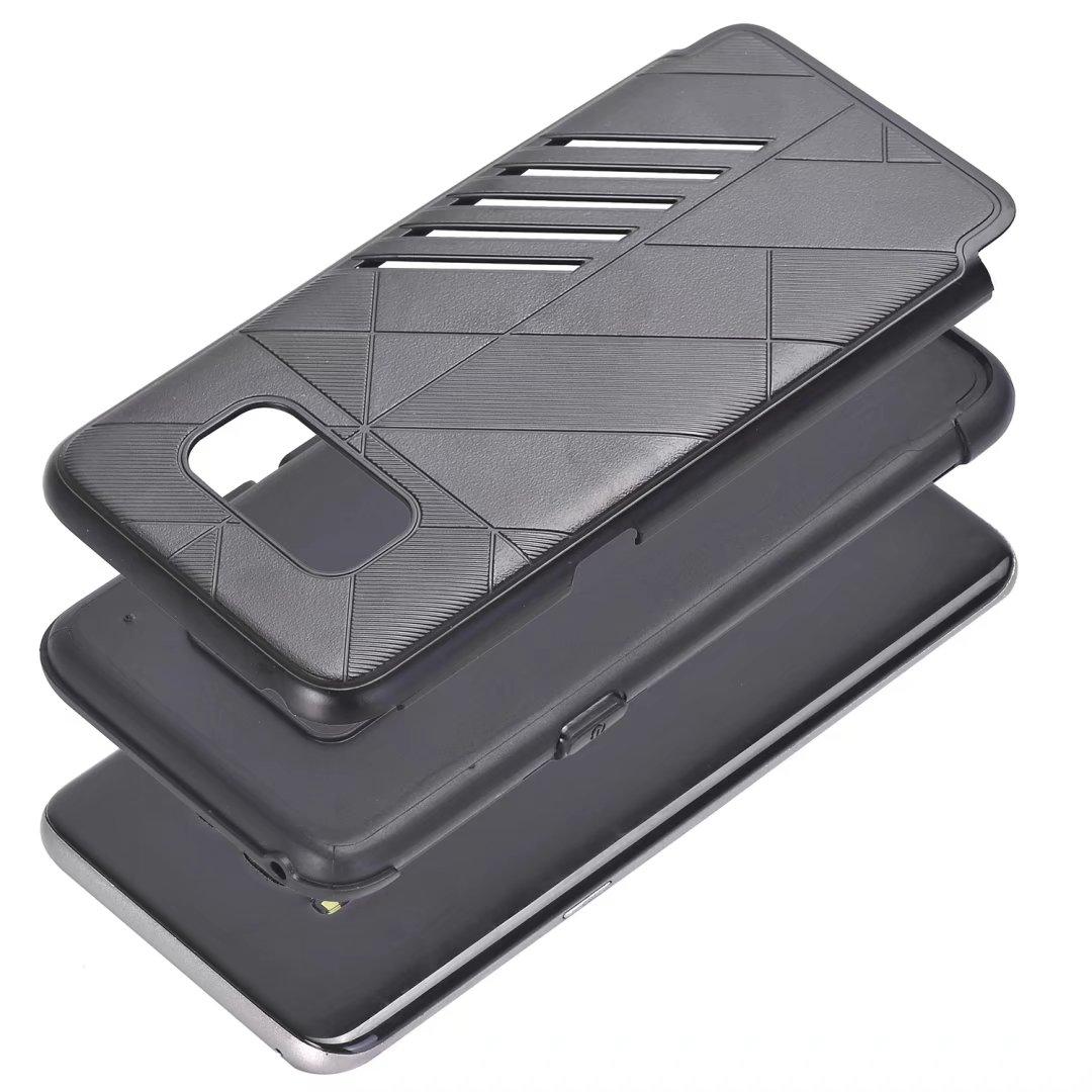 Samsung S8 Plus Holster Shark Stripe Elegant Dual Layer Armor Case