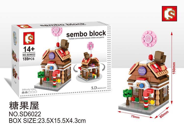 Jual Sembo Block Sd6022 Sweet Candy Store 189 Pcs Pz 911 Baby
