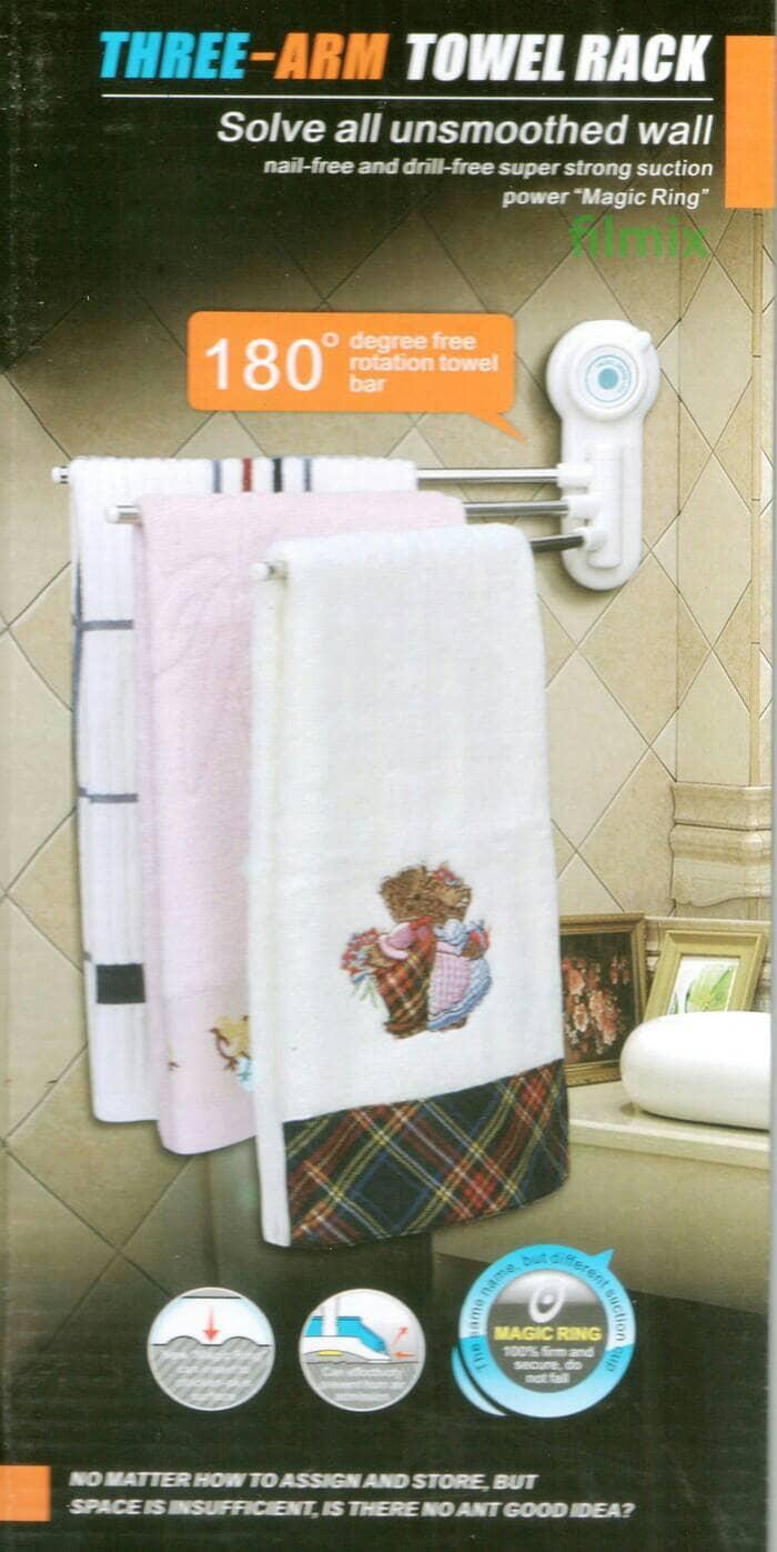Harga Dan Spesifikasi Waterplus Tbr 022 Double Towel Bar Gantungan Toto Tx722aes Spare Paper Holder Tempat Tissue Kamar Mandi Rak Handuk Lap 3 Susun Three Arm Rack