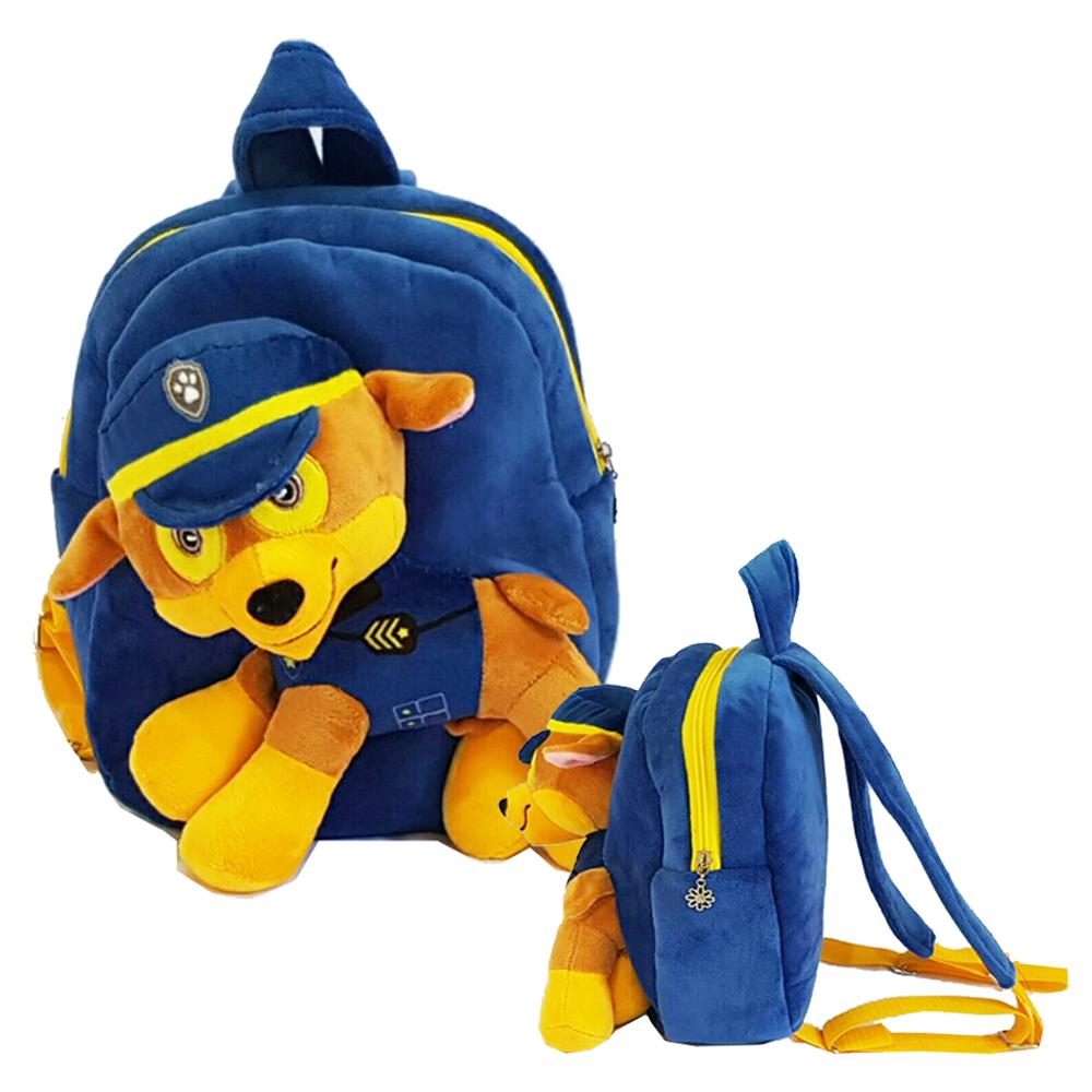Onlan Tas Ransel Anak Boneka Paw Patrol Marshall Bahan Yelvo Kaos Raglan Ajs133 Jual Chase Halus Lembut Blue Tokopedia