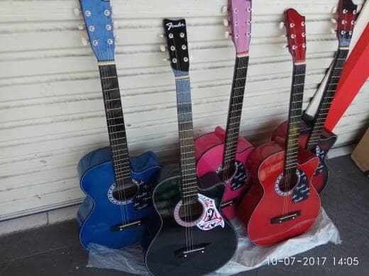 Jual Paket Hemat Gitar Akustik Murah Meriah