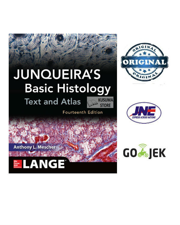 [INGGRIS] ORIGINAL Junqueira Basic Histology 14 ed Text and Atlas