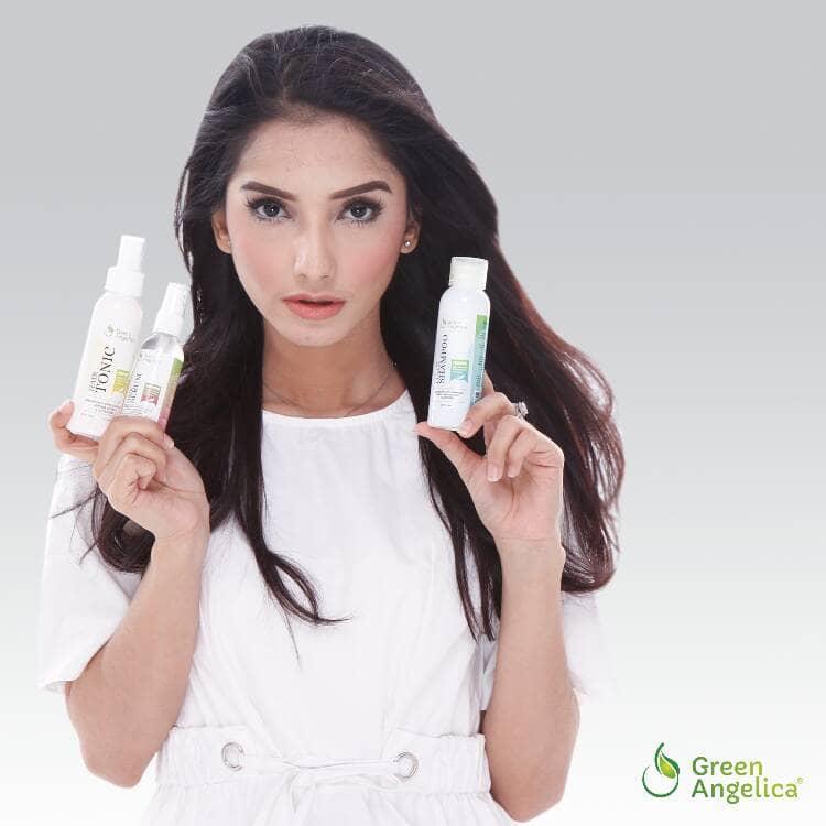 Obat Penumbuh Rambut Botak Alami Paket Maksimal Green Angelica