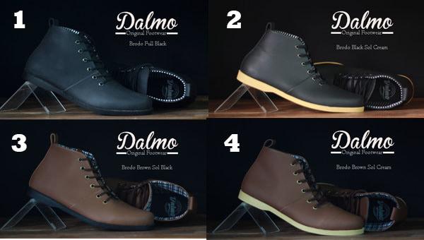 Sepatu Kulit Pria Boots Terkeren Dan Termurah Orginal Dalmo Brodo ... 88ea66d152