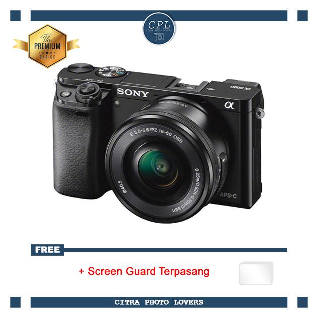 Sony Alpha A6000 Kit 16-50mm Free Screenguard