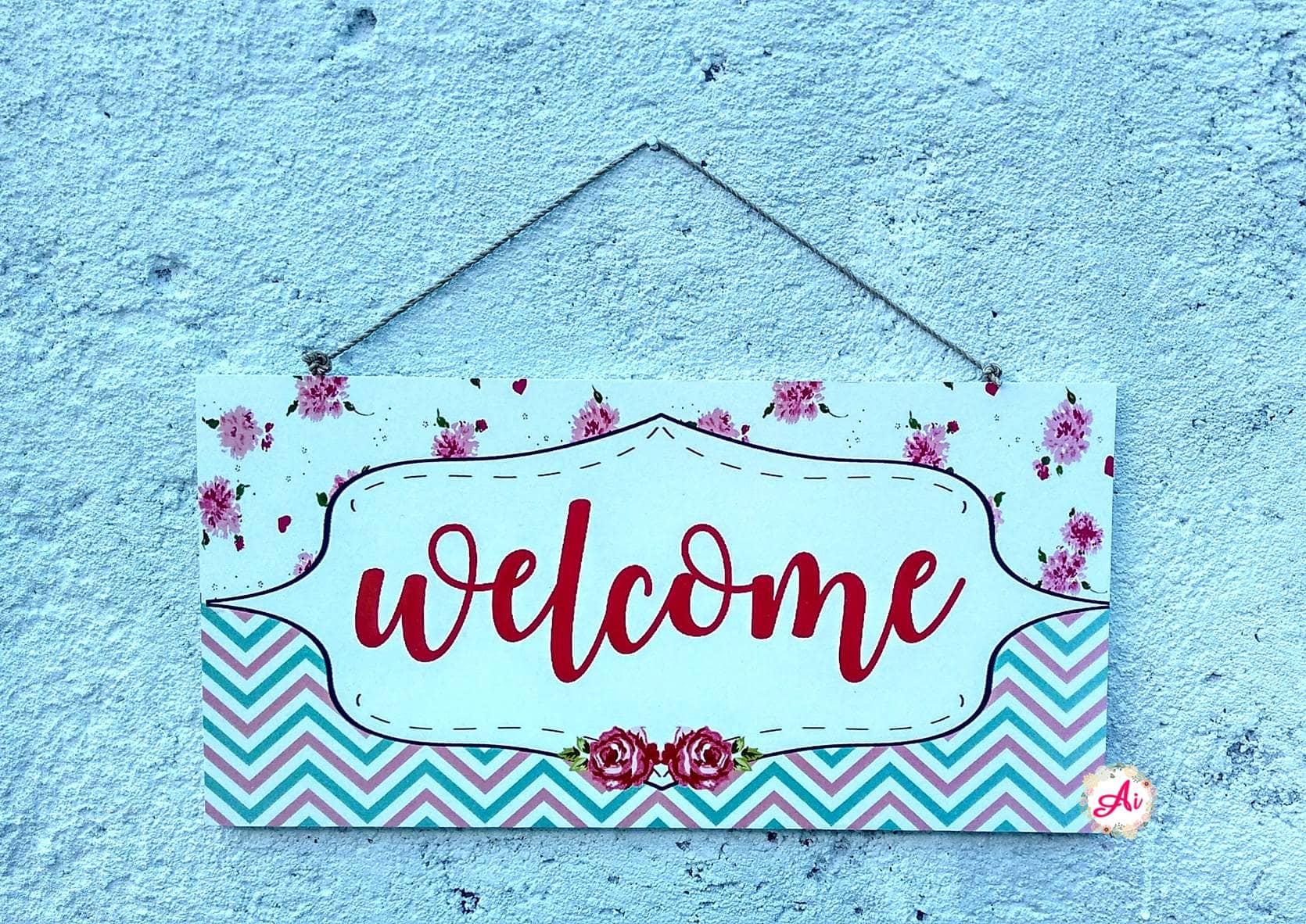 Jual Produk Ukm Dekorasi Rumah L Wall Decor Hiasan Dinding Bumn Car Charger 2 Usb Shabby Chic Welcome