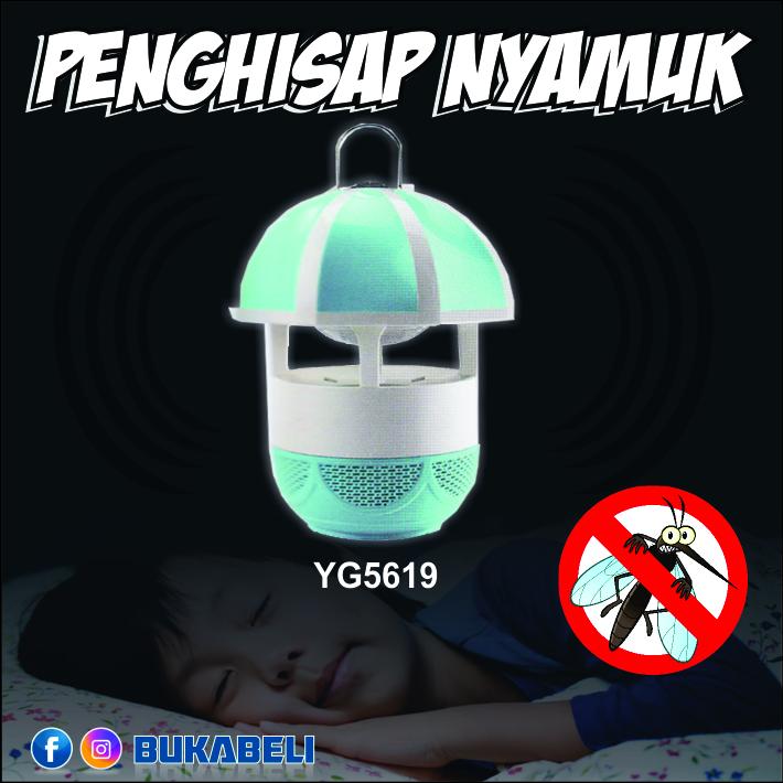 Lampu Perangkap Nyamuk Warna Biru / LED Perangkap nyamuk