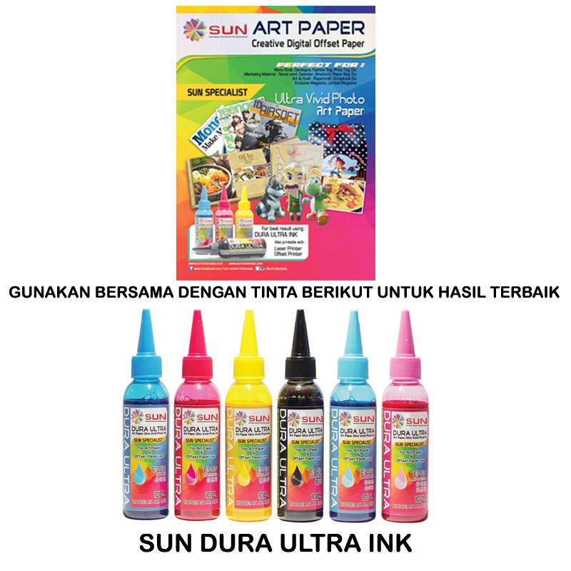 Jual SUN KERTAS ART PAPER A4 150 GSM (ISI 100 LEMBAR
