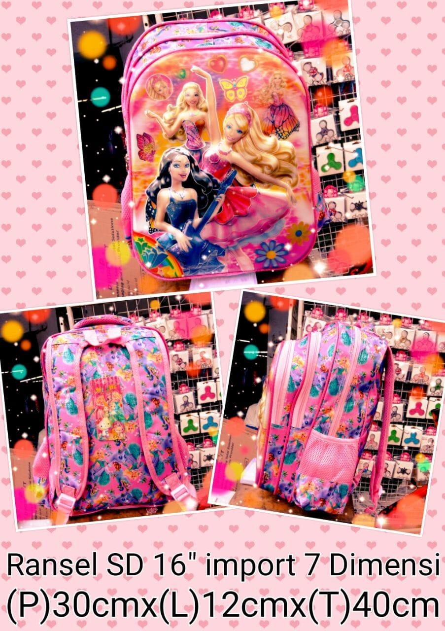 harga Tas Ransel Anak SD Barbie B 16