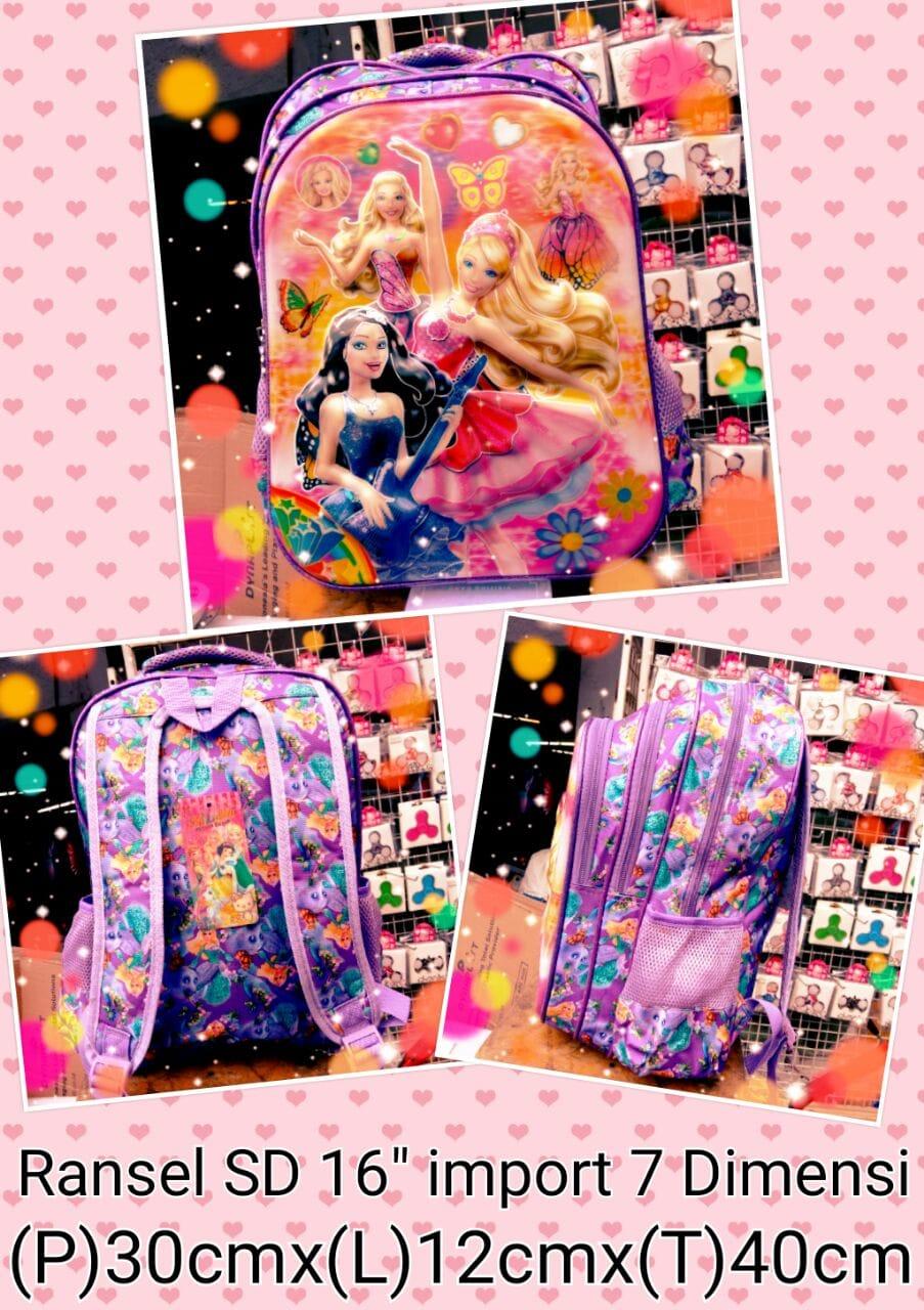 harga Tas Ransel Anak SD Barbie A 16