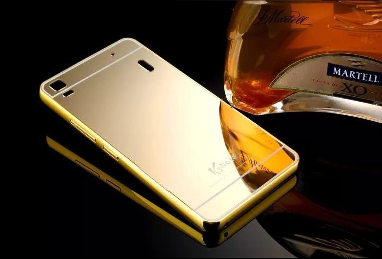 detailed look 363e4 84d9e Jual MIRROR CASE Lenovo A1000 A7000 K3 note casing back cover ...