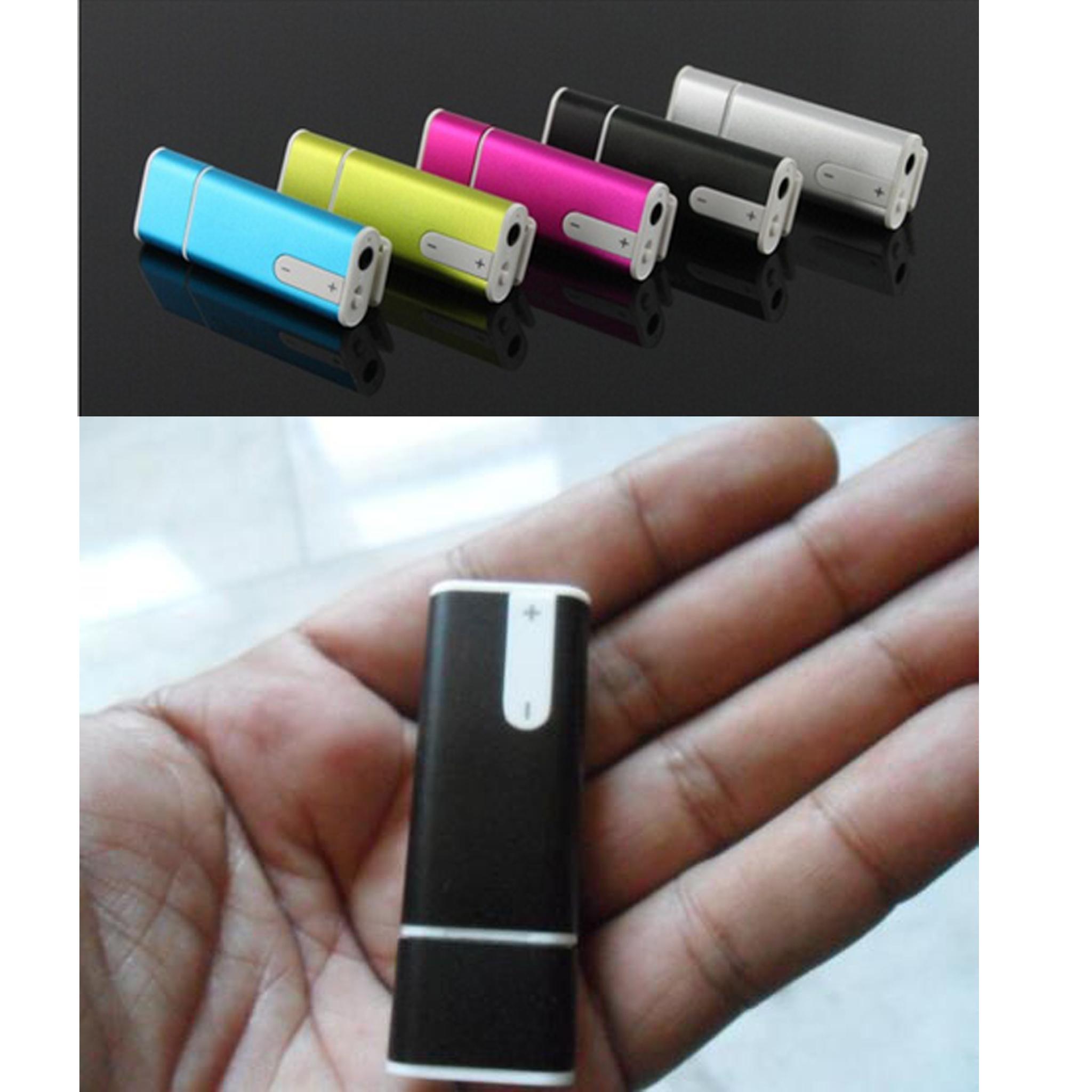 Jual USB FlashDisk + Mini Clip 8GB + Voice Recorder + MP3 Player - FW22  