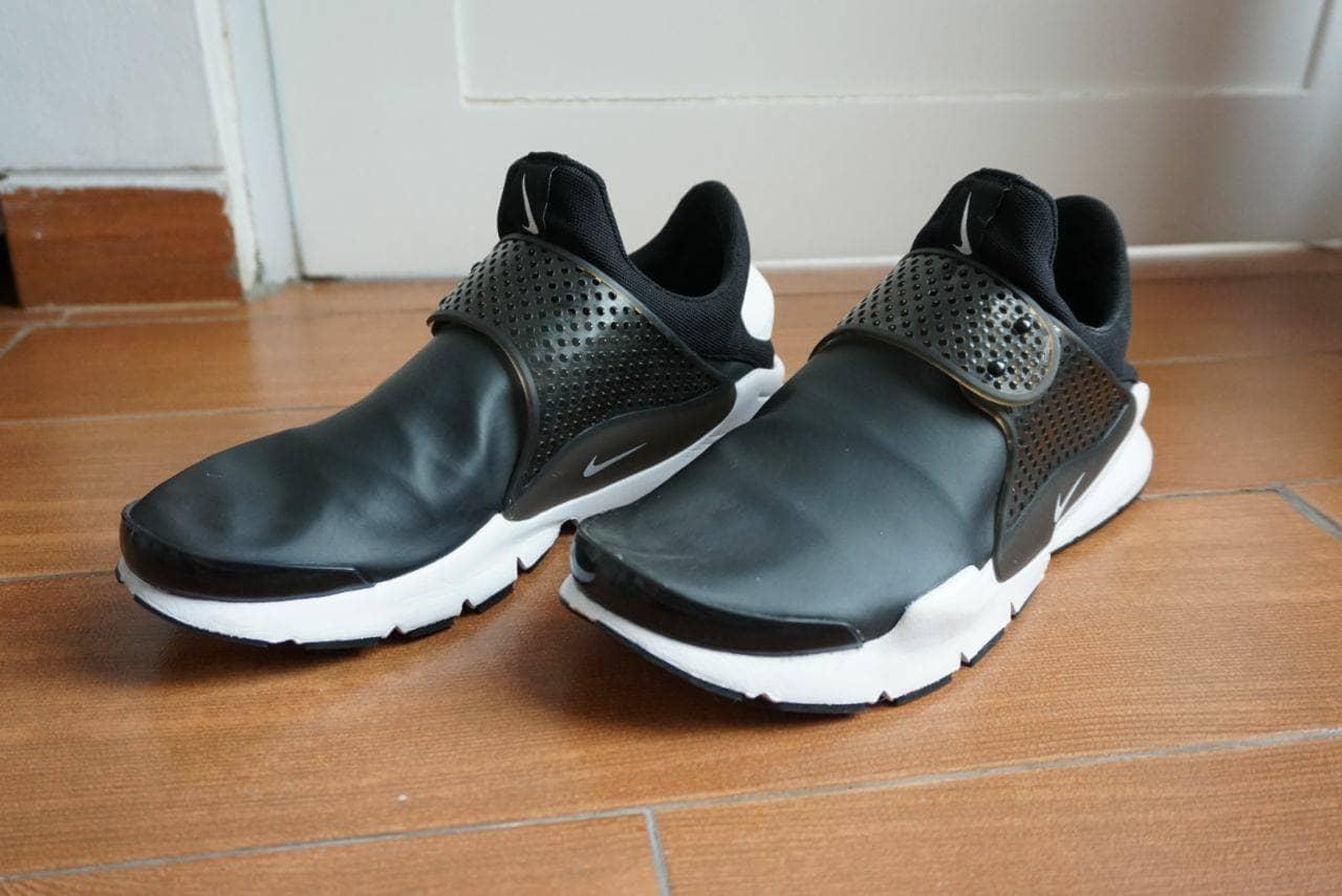 half off c9e27 55548 Jual Nike Sock Dart Black / White Waterproof Size US 9 ...