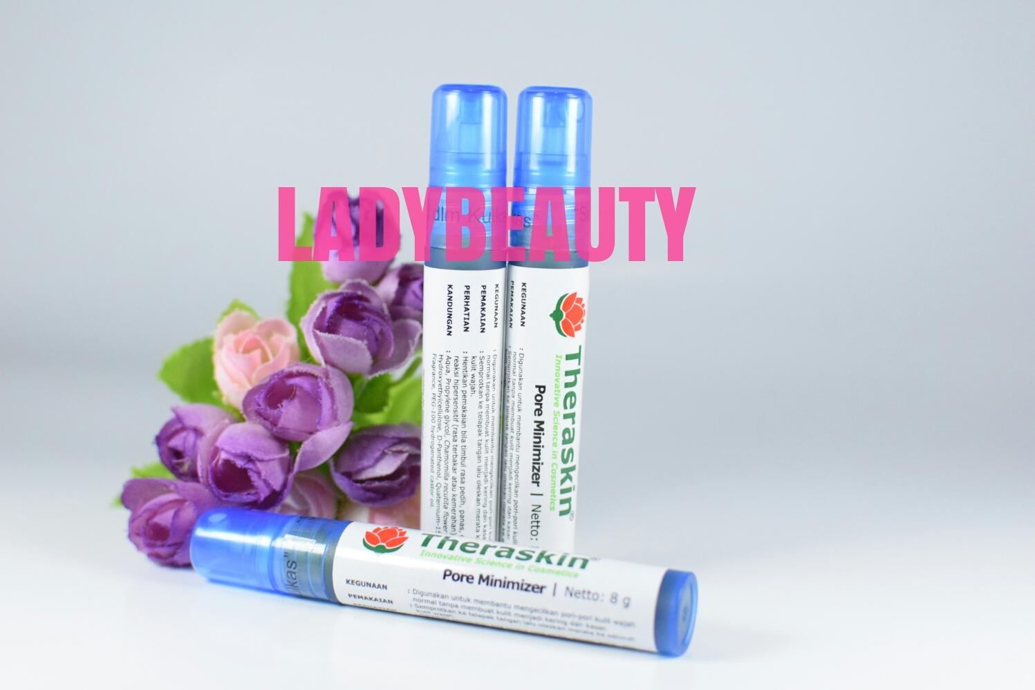 Jual Serum Pengecil Pori Theraskin Pore Minimizer Ladybeauty Untuk Mengecilkan Tokopedia