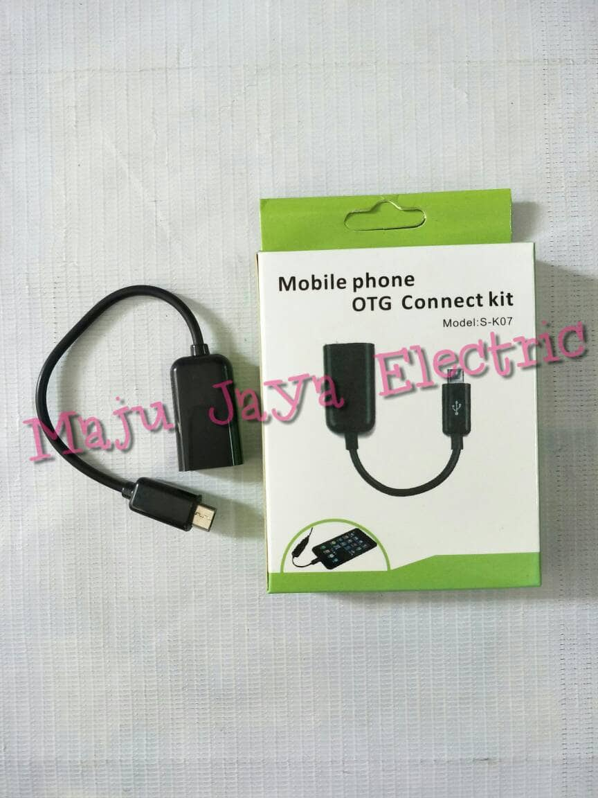 Jual Kabel Micro Usb Otg To Female Connect Kit Mobile Phone Model S K07 Cable Toko Maju Jaya Electric Tokopedia