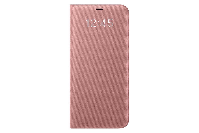 Samsung Galaxy S8 Case LED Flip Wallet - Pink Original