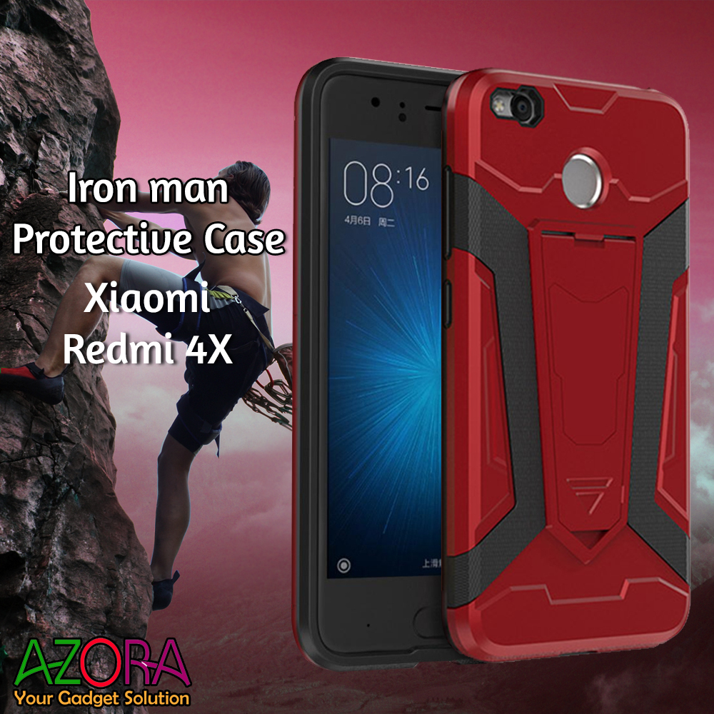 Harga Case Iron Man For Xiaomi Redmi 4x Robot Transformer Ironman .
