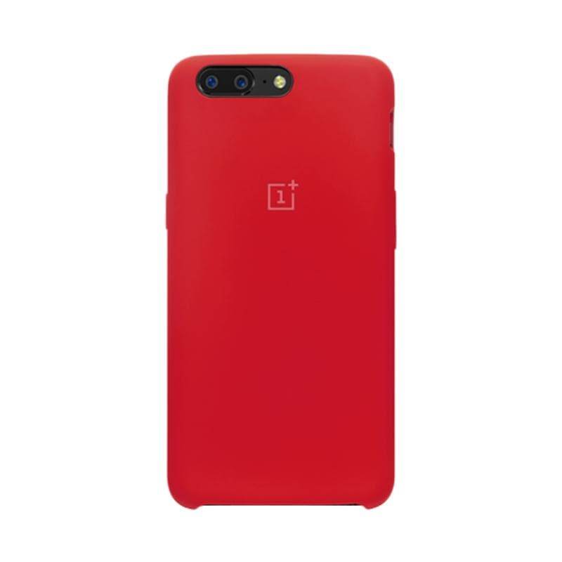 OnePlus 5 Case Official Silicone - Red