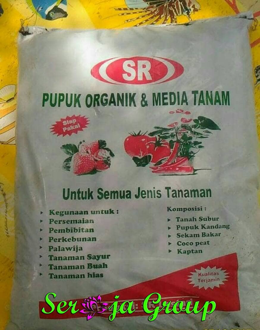 Jual Media Tanam Siap Pakai Pupuk Organik Untuk Tanaman Tabah Seroja Group Tokopedia