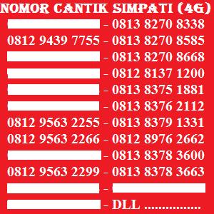 Telkomsel Simpati Nomor Cantik 0812 1818 494 Daftar Update Harga Source Kartu Perdana .