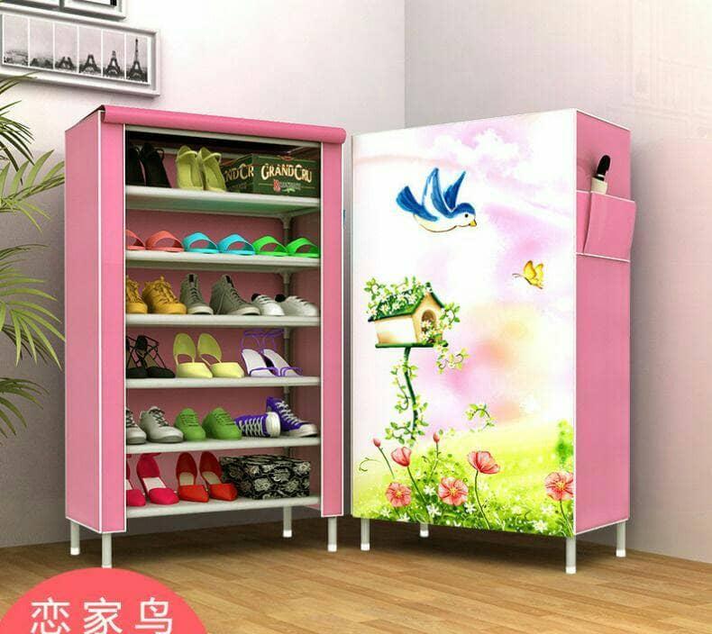 New Lemari Sepatu Besar, Rak Sepatu, Tempat Sepatu, sandal
