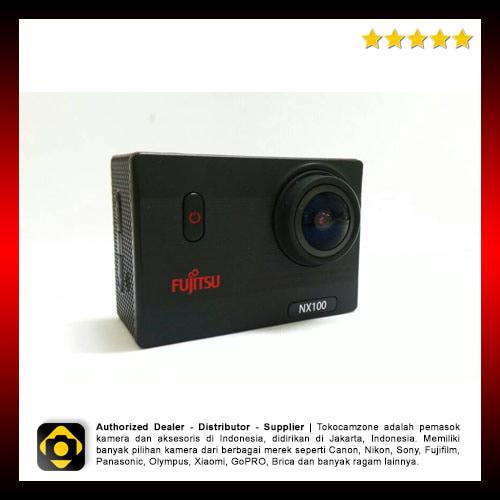 Fujitsu NX100 Wifi Action Camera Full Hd Waterproof