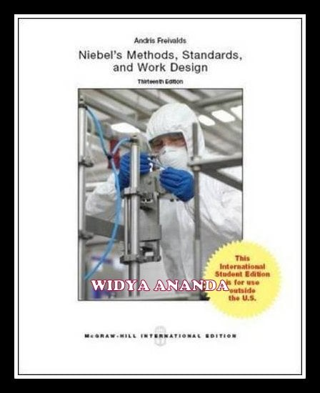Niebel's Methods, Standards, \u0026 Work Design 13th edition