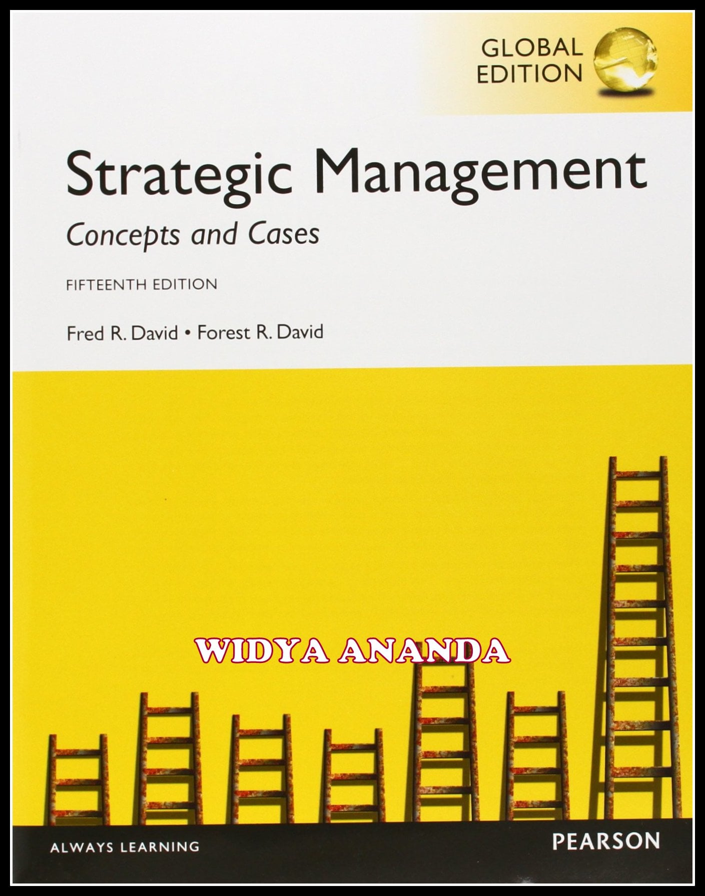 Strategic Management Concepts and Cases 15th edition