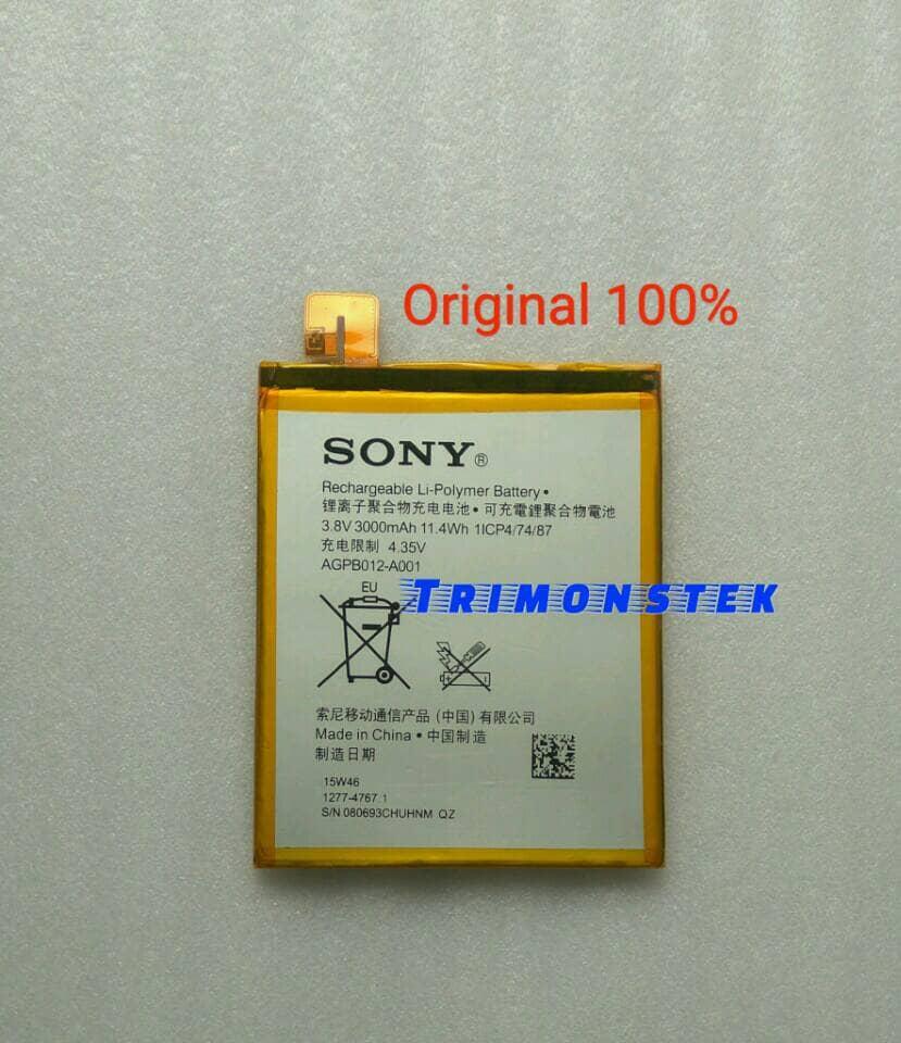 Jual Baterai Battery Sony Xperia T2 Ultra D5322 D5303 D5306 Agpb012 A001 Original Trimonstek Tokopedia