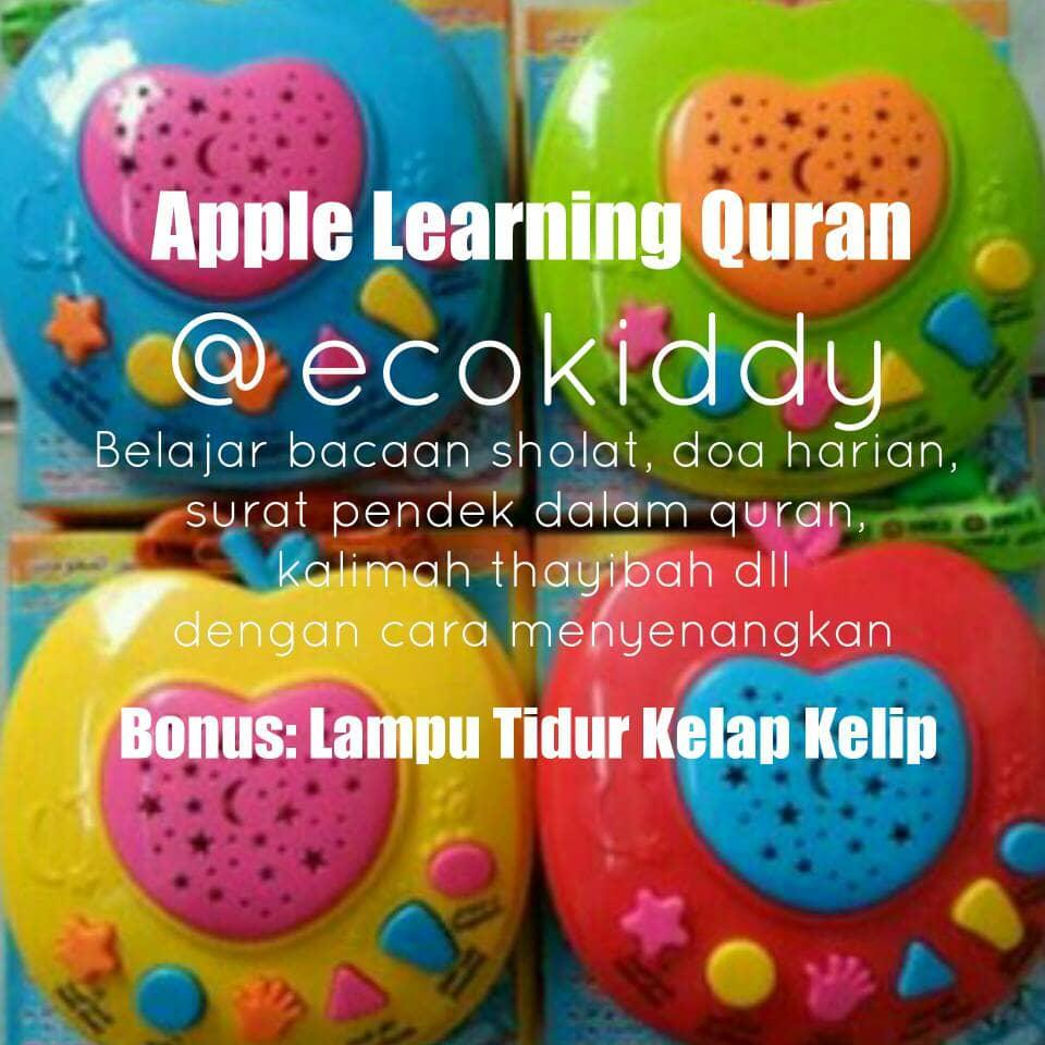 Jual Apple Learning Quran Belajar Alquran Al Mainan Edukatif 6 Tombol Edukasi Anak Apel Ecokiddy Tokopedia