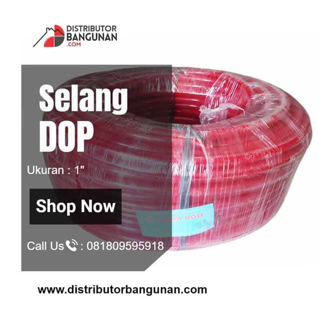Selang Air Elastis DOP Warna U/ Kran Air Taman Fleksibel 1' 50M