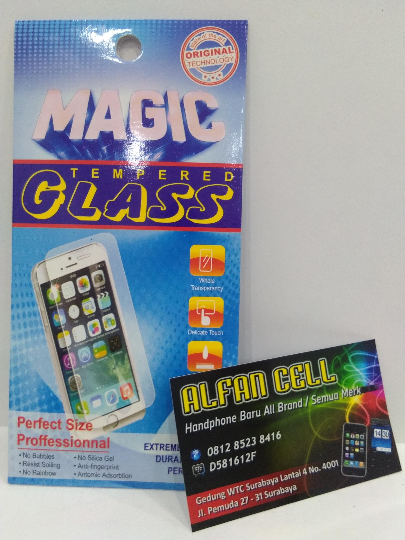 Jual Tempered Glass Iphone 5 Black Alfan Cell Tokopedia Handphone Surabaya