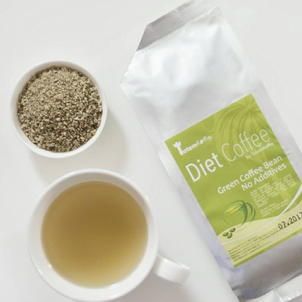 Jual Totemkoffie Diet Coffee Green Bean Biji Kopi Hijau Siap Minum