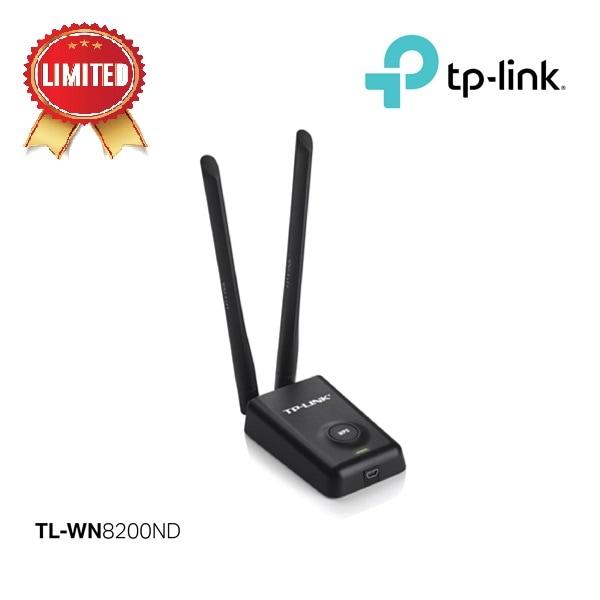 harga Tp-link 300mbps High Power Wireless Usb Adapter Tl-wn8200nd - Hitam Blanja.com