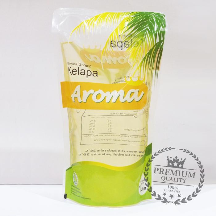 harga Minyak Goreng Kelapa Aroma 1l Pouch Refill Blanja.com