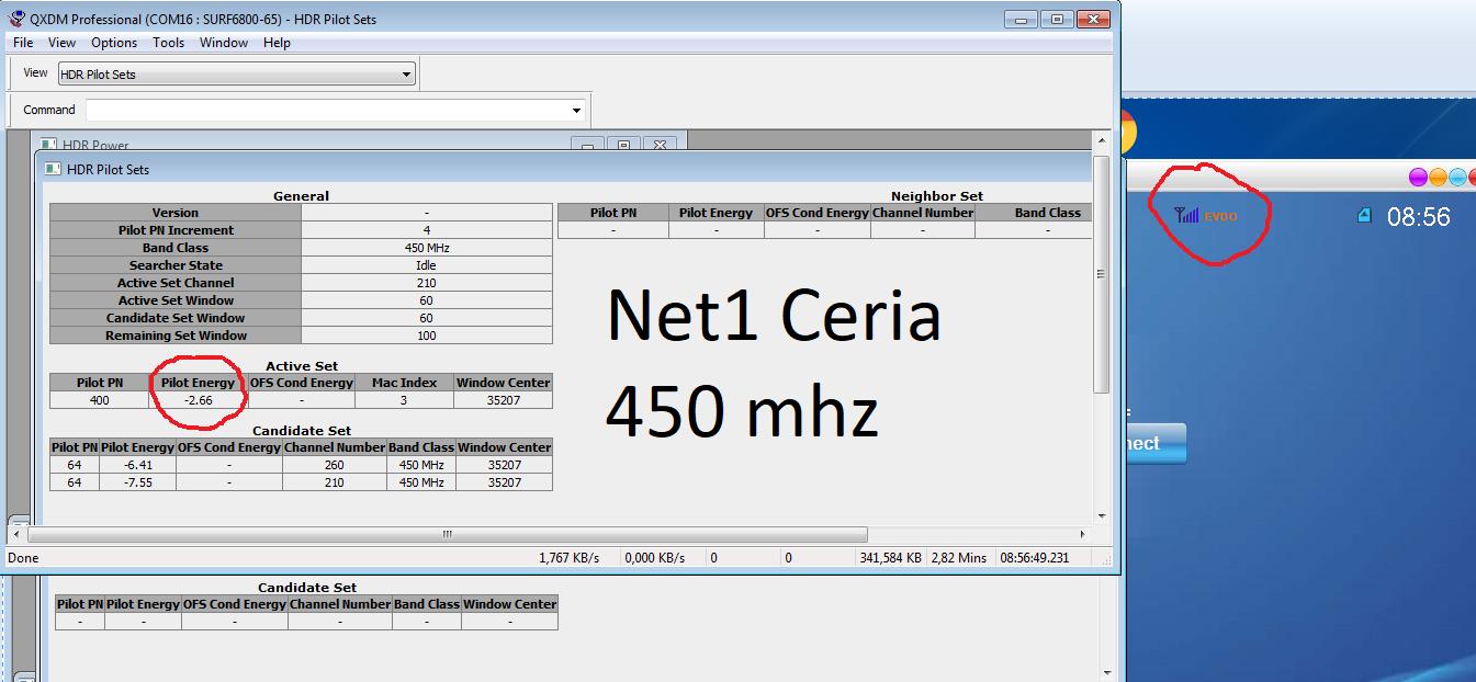 Antena Penguat Sinyal Modem Mifi Home Router dan Telepon untuk Net1 Ceria CDMA
