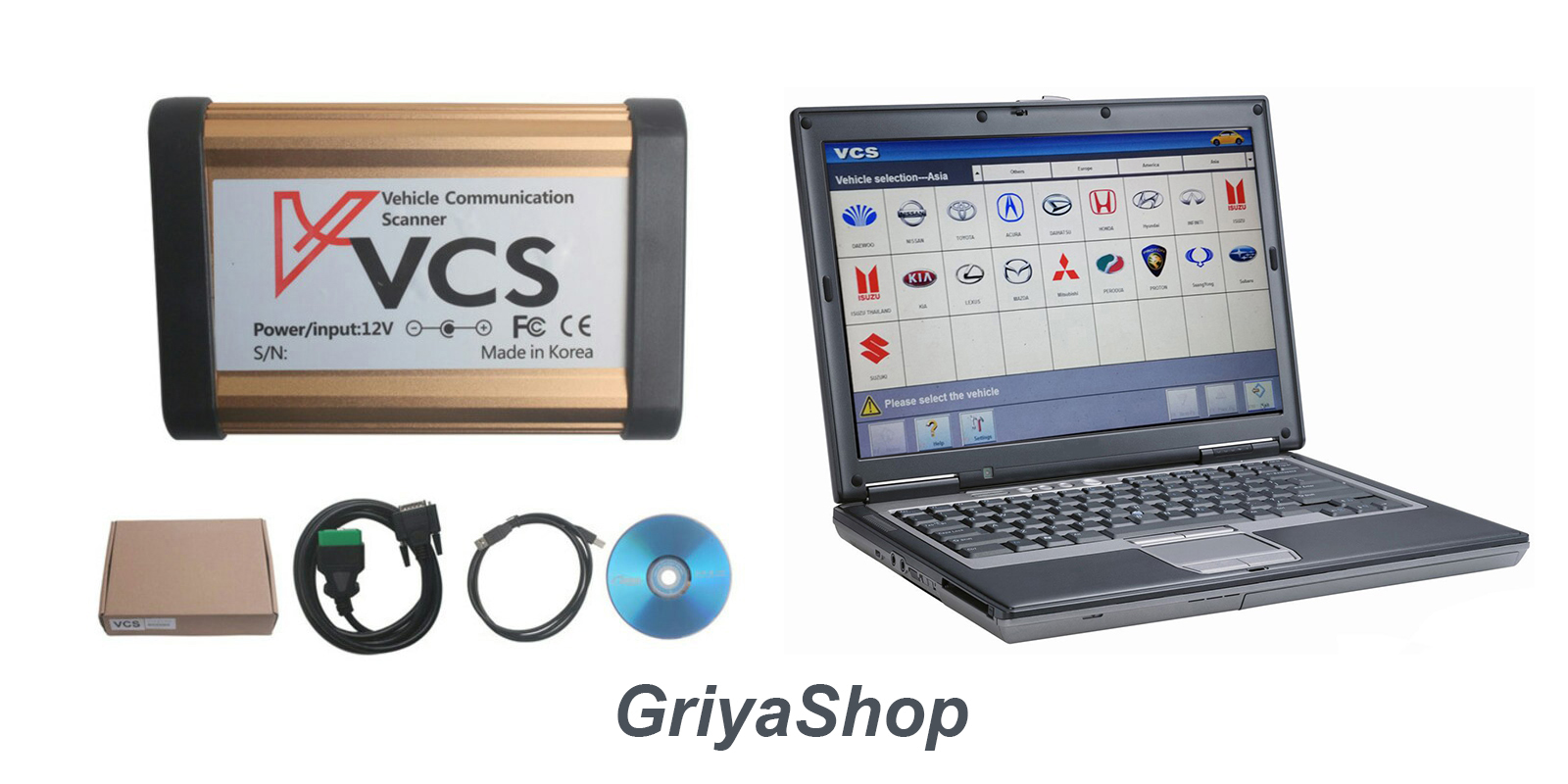 Jual Vcs Obd1 Dan Obd2 Scanner Dengan Full Install Laptop Scaner Mobil Easydiag Sotfwere