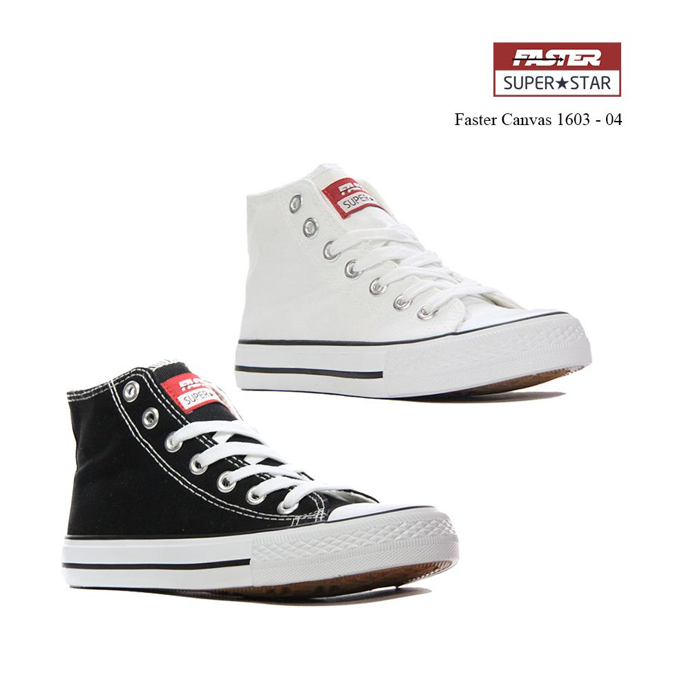 Faster Sepatu Sneakers Kanvas Wanita 1603 04 Merah Putih Daftar Koketo Zis  05 Pria Jual 36 c8596a65a4