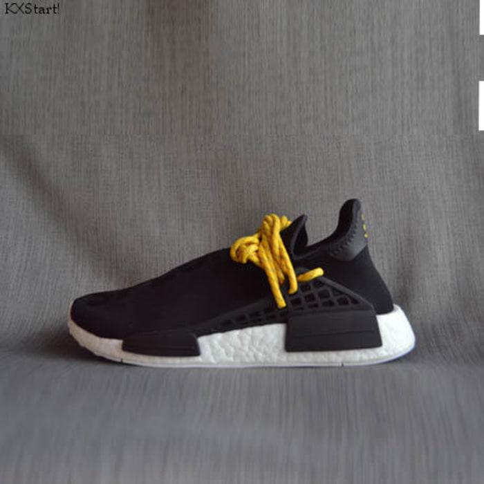 Sepatu Adidas NMD Human Race PW Black Original Sneakers